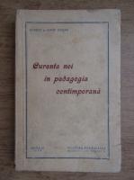 Anticariat: Stanciu Stoian, Iorgu Stoian - Curente noi in Pedagogia Contemporana (1939)