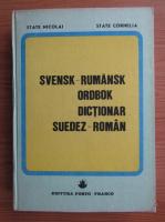 State Nicolai - Dictionar suedez-roman