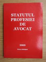 Anticariat: Statutul profesiei de avocat
