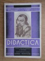 Stefan Barsanescu - Didactica pentru scoalele normale si seminarii (1935)