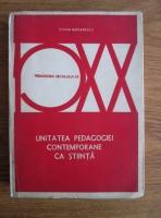 Stefan Barsanescu - Unitatea pedagogiei contemporane ca stiinta