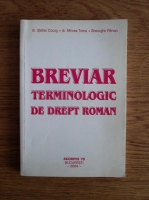 Anticariat: Stefan Cocos - Breviar terminologic de drept roman