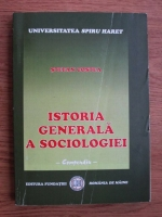 Stefan Costea - Istoria generala a sociologiei