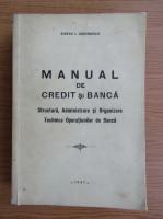 Stefan Dumitrescu - Manual de credit si banca