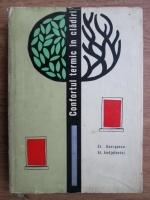 Anticariat: Stefan Georgescu, Al. Andjulovici - Confortul termic in cladiri