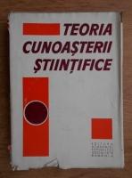 Anticariat: Stefan Georgescu - Teoria cunoasterii stiintifice
