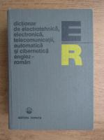 Anticariat: Stefan Iacobescu - Dictionar de electrotehnica, electronica, telecomunicatii, automatica si cibernetica englez-roman