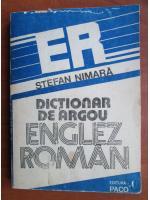 Stefan Nimara - Dictionar de argou Englez-Roman