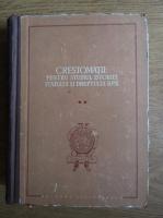 Anticariat: Stefan Pascu - Crestomatie pentru studiul istoriei statului si dreptului R.P.R. (volumul 2)