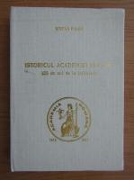 Stefan Pascu - Istoricul Academiei Romane