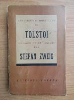 Anticariat: Stefan Zweig - Les pages immortelles de Tolstoi (1939)