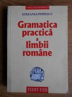 Anticariat: Stefania Popescu - Gramatica practica a limbii romane (editia 2007)