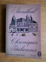 Stendhal - Chroniques italiennes