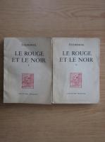 Stendhal - Le rouge et le noir (2 volume)