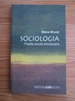Anticariat: Steve Bruce - Sociologia. Foarte scurta introducere