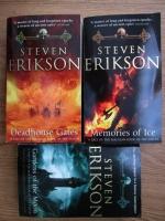 Steven Erikson - A tale of the Malazan Book of the Fallen (3 volume)
