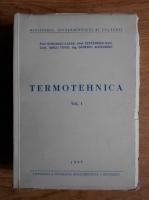 Anticariat: Stoicescu Lazar - Termotehnica (volumul 1)
