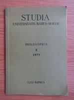 Stuadia Universitaris Babes-Bolyai, philosophia (volumul 2)