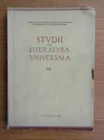 Anticariat: Studii de literatura universala (volumul 7)
