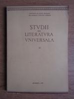 Anticariat: Studii de literatura universala