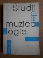 Studii de muzicologie (volumul 2)