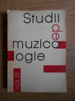 Studii de muzicologie (volumul 3)
