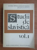 Anticariat: Studii de slavistica (volumul 1)