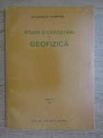 Studii si cercetari de geofizica (volumul 31)