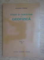 Studii si cercetari de geofizica (volumul 32)