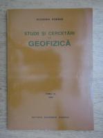 Studii si cercetari de geofizica (volumul 33)