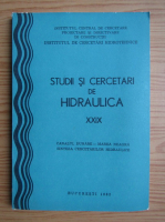 Studii si cercetari de hidraulica (volumul 22)