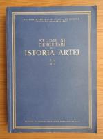 Studii si cercetari de istoria artei, anul I, nr. 3-4, iulie-decembrie 1954