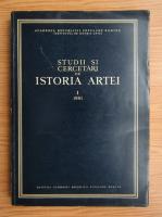 Studii si cercetari de istoria artei, anul VIII, nr. 1, 1961