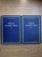Anticariat: Studii si cercetari de Istoria artei (iulie-decembrie 1956, 2 volume)