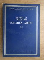 Studii si cercetari de istoria artei (volumul 3-4)