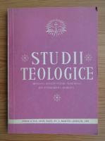 Anticariat: Studii teologice, anul XLIII, nr. 2, martie-aprilie 1991