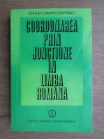 Suzana Carmen Dumitrescu - Coordonarea prin jonctiune in limba romana