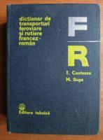 Anticariat: T. Contescu - Dictionar de transporturi feroviare si rutiere francez-roman