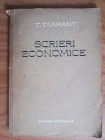 T. Diamant - Scrieri economice