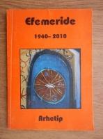 Anticariat: Tabele de efemeride 1940-2010