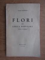 Tache Papahagi - Flori din lirica populara (1936)
