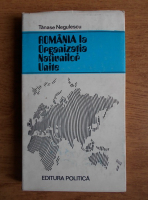 Anticariat: Tanase Negulescu - Romania la Organizatia Natiunilor Unite