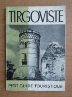 Targoviste. Petit guide touristique