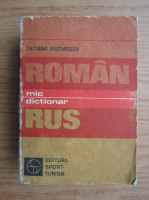 Anticariat: Tatiana Medvedev - Mic dictionar roman-rus