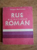 Tatiana Medvedev - Mic dictionar rus roman