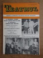Teatru. Revista a consiliului culturii si educatiei socialiste. Numarul 9, septembrie 1977