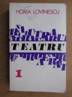 Teatru (volumul 1)