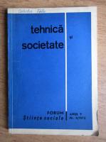 Anticariat: Tehnica si societate, anul V, nr. 3, 1973