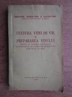 Teodor Martin - Cultura vitei de vie si prepararea vinului