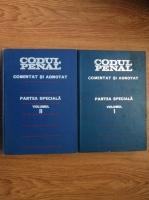 Teodor Vasiliu - Codul penal al republicii socialiste Romania. Comentat si adnotat (2 volume)